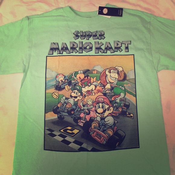 961bd2c2 Urban Outfitters Shirts | Super Mario Kart Graphic Tee | Poshmark
